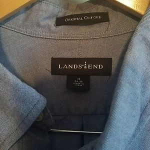 Lands'End Shirts - ✔Lands'End Original Oxford - Mens Shirt
